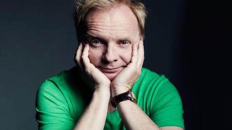 Der Kabarettist Uwe Steimle