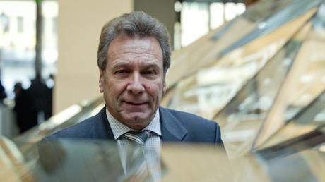 (Archivbild). Klaus Ernst kommt am 7. Februar 2012 in Berlin während der Verleihung der Stars of Sports Awards.