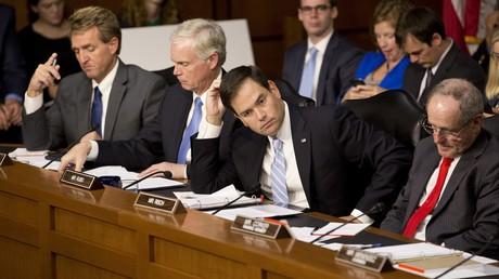 Mitglieder des US-Senatsausschusses für Auswärtige Angelegenheiten