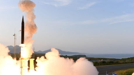 Israels Arrow-3-Rakete wurde am 28. Juli in Alaska/USA getestet.