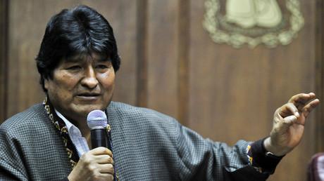 Der abgesetzte Präsident Boliviens, Evo Morales, in seinem derzeitigen Exil in Mexiko.