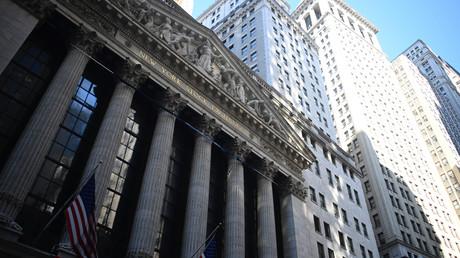 Sitz der New Yorker Börse an der Wall Street, dem Symbol des US-Finanzkapitalismus, dessen Erfolg droht, die US-Wirtschaft und damit sich selbst