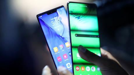 Huawei Mate 30 Mobiltelefon, München, Deutschland, 19. September 2019.