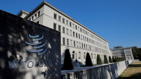 Der Sitz der WTO in Genf