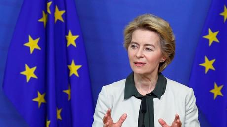 EU-Kommissionspräsidentin Ursula von der Leyen, Brüssel, Belgien, 11. Dezember 2019.