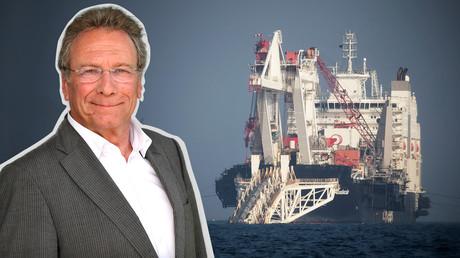Linken-Politiker Klaus Ernst sprach mit RT Deutsch über das Projekt Nord Stream 2 und  geplante US-Sanktionen.