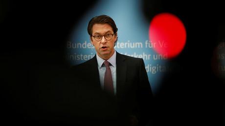 Verkehrsminister Andreas Scheuer, Berlin, Deutschland, 11. Dezember 2019.