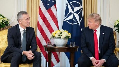 NATO-Generalsekretär Jens Stoltenberg zu Gast bei US-Präsident Donald Trump, der für die europäischen Verbündeten kein