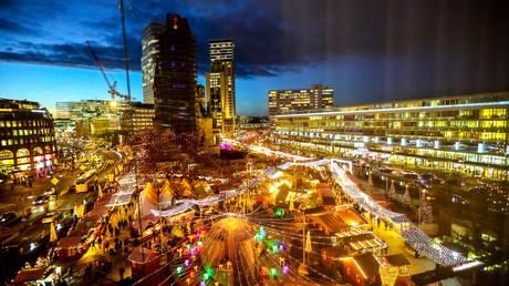 Vor drei Jahren Tatort: Der Weihnachtsmarkt auf dem Breitscheidplatz am Mittwoch