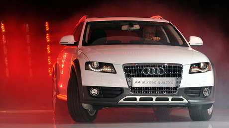 Der Audi A4, der hier am 2. März 2009 beim Genfer Automobilsalon präsentiert wurde, war einer der meistgefragten Gebrauchtwagen in Serbien 2019.