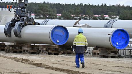 USA verhängen Sanktionen wegen Nord Stream 2 (Archivbild)