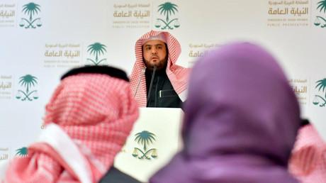 Der stellvertretende Staatsanwalt Shalaan al-Shalaan, Riad, Saudi-Arabien, 23. Dezember 2019.