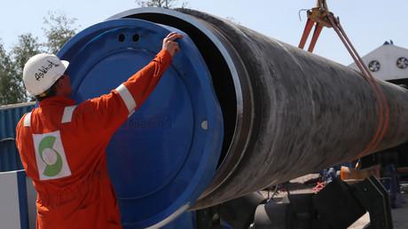 USA setzen Firmen 30-Tage-Frist für Stopp von Nord Stream 2 – Russland hofft auf Start bis Ende 2020 (Archivbild)