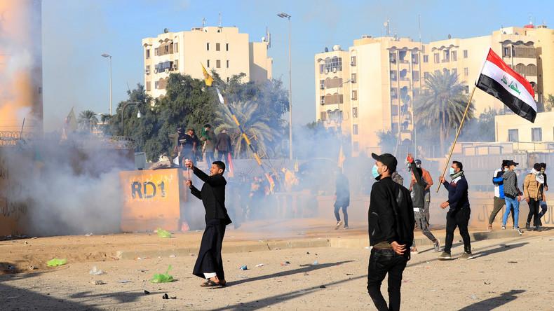 Spannung um US-Botschaft im Irak dauert an – Ajatollah Ali Chamenei bestreitet Irans Beteiligung