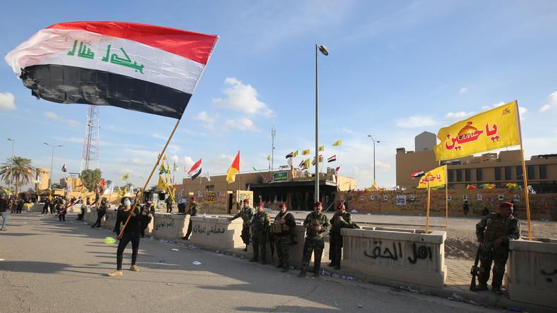 Belagerung von US-Botschaft in Bagdad vorerst beendet – Forderung nach Abzug aller US-Truppen
