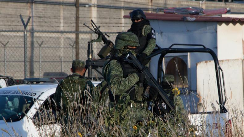 Freundschaftsspiel zwischen mexikanischen Gefängnisinsassen mündet in Kämpfen mit 16 Toten