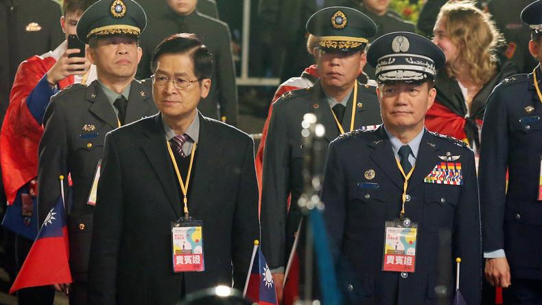 Taiwan: Generalstabschef und sieben weitere Militärs sterben bei Hubschrauberabsturz