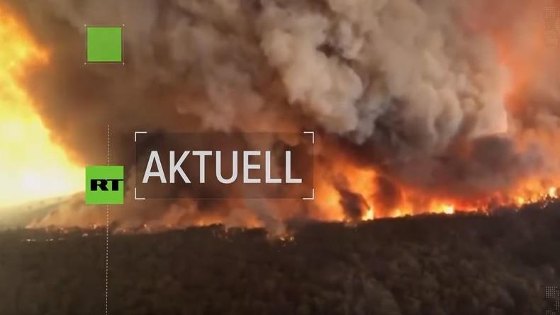 Feuerinferno in Australien: Gefahrengebiete werden evakuiert – 17 Tote und Dutzende Vermisste