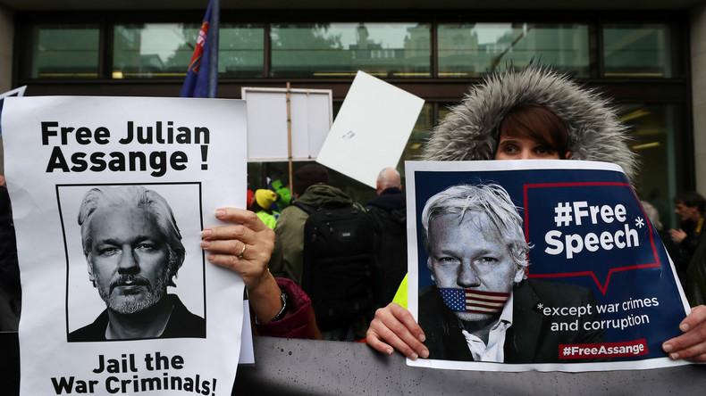 Großbritannien: Kein fairer Prozess für Julian Assange (Video)