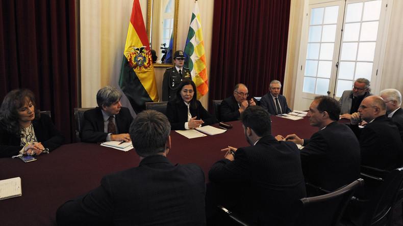 EU kritisiert Ausweisung spanischer Diplomaten aus Bolivien