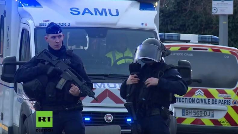 LIVE: Nach bewaffnetem Angriff bei Paris – 2 Tote und mehrere Verletzte