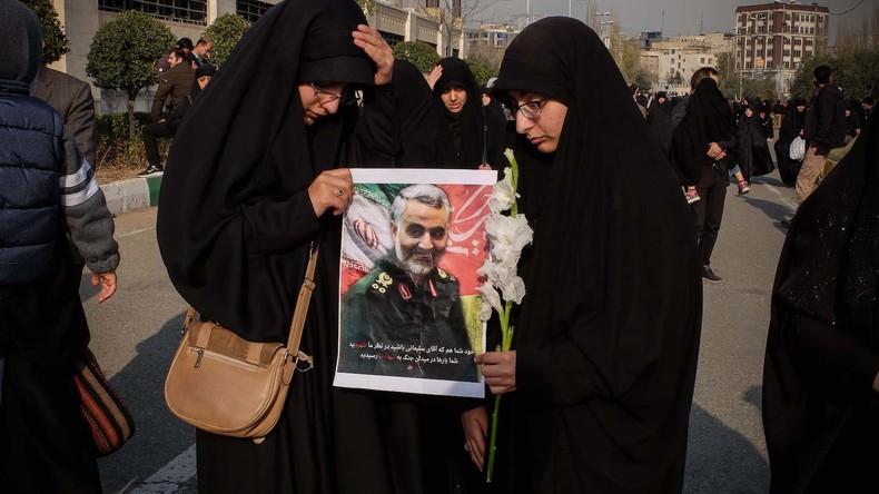 """Sprecherin der Bundesregierung: Ermordung Soleimanis """"Reaktion auf Provokationen des Iran"""""""