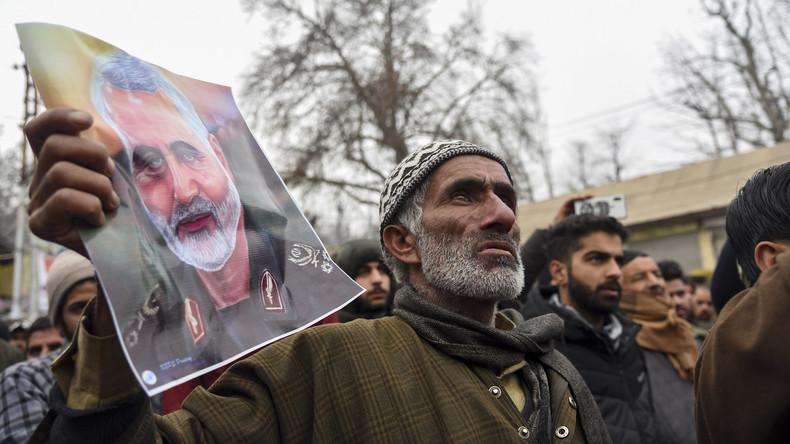 """Syrischer UN-Botschafter: """"Die kriminellen USA haben Soleimani so getötet, wiees Banditentun"""""""