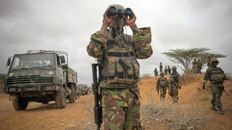 Islamistische Al-Shabaab-Miliz greift eine von US-Soldaten genutzte Militärbasis in Kenia an
