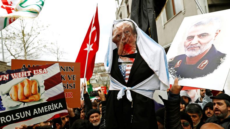 Russischer Senator: Soleimanis Ermordung ist ein Versuch, Trumps Wahlkampf anzukurbeln
