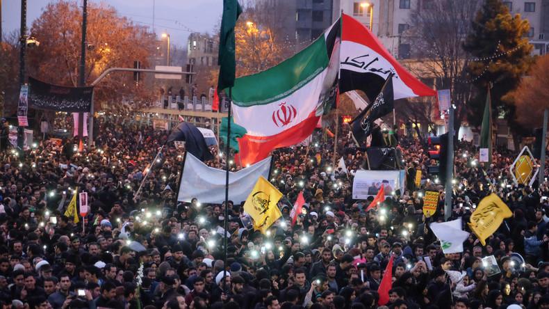 LIVE: Trauerfeier für Irans Top-General Qassem Soleimani in Teheran