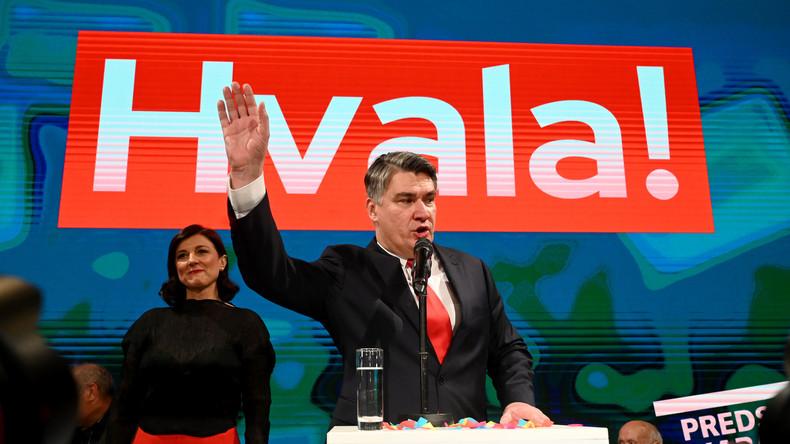 Kroatien: Sozialdemokrat Milanović gewinnt Präsidentenwahl