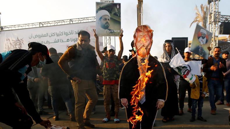 US-Militär soll bleiben: Trump droht Irak mit Sanktionen bei erzwungenem US-Truppenabzug (Video)
