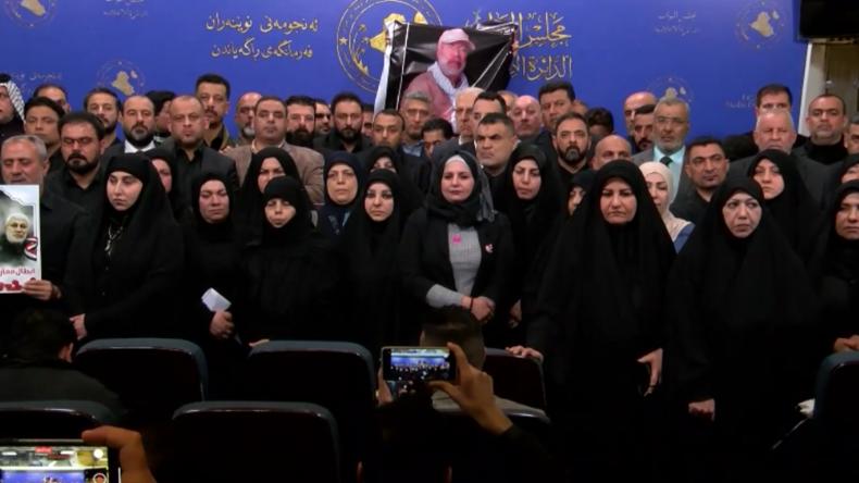 """Irak: Parlamentarier nach Resolution zur Ausweisung von US-Truppen: """"Ein großer Tag für unser Land"""""""