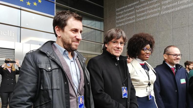 EU-Parlament erkennt Puigdemont und zwei weitere katalanische Separatistenführer als Abgeordnete an