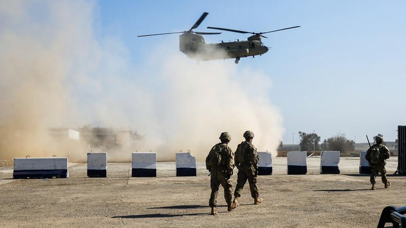 US-geführte Koalition bestätigt Vorbereitungen zum Rückzug aus dem Irak