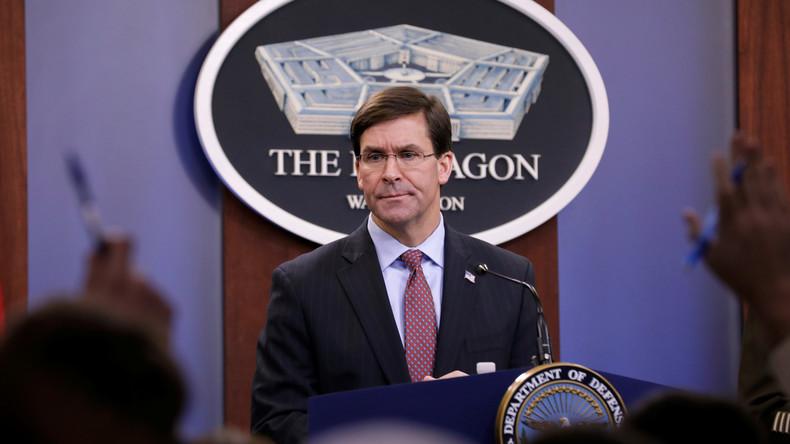 US-Verteidigungsminister dementiert Pläne zum US-Truppenabzug aus dem Irak – Konfusion im Pentagon