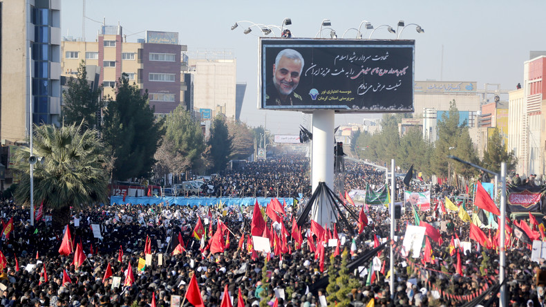 LIVE: Beerdigung von Top-General Qassem Soleimani in seiner Heimatstadt Kerman