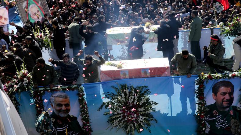 Iran: Dutzende sterben bei Massenpanik während der Beerdigung von General Soleimani