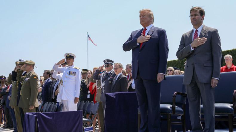 Schadensbegrenzung: Pentagon distanziert sich von Trumps Drohung gegen iranische Kulturstätten