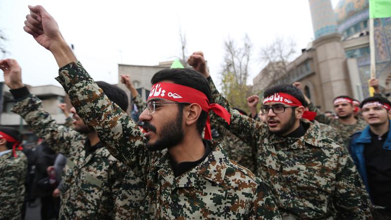 US-Militärgeheimdienst: Im Kriegsfall könnte der Iran auf über zwei Millionen Mann zurückgreifen
