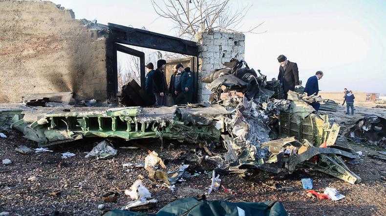 Ukrainisches Flugzeug bei Teheran abgestürzt – über 170 Todesopfer