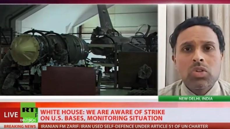 Live: RT International nach Flugzeugabsturz in Teheran und iranischen Angriffen auf US-Basen im Irak