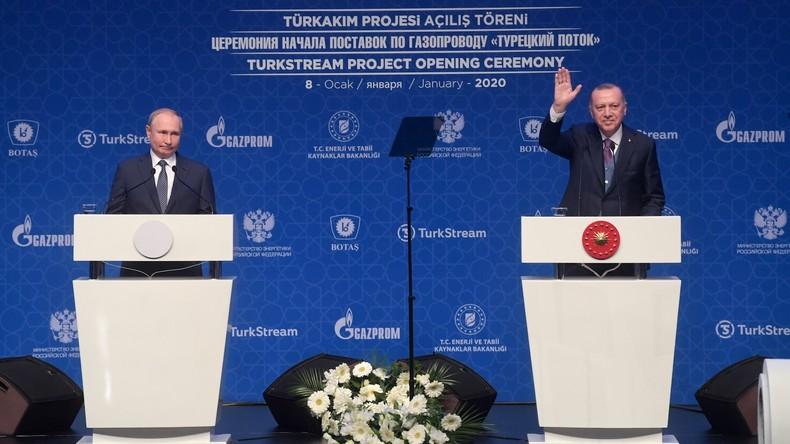 Türkei: Erdoğan und Putin eröffnen Pipeline Turkish Stream