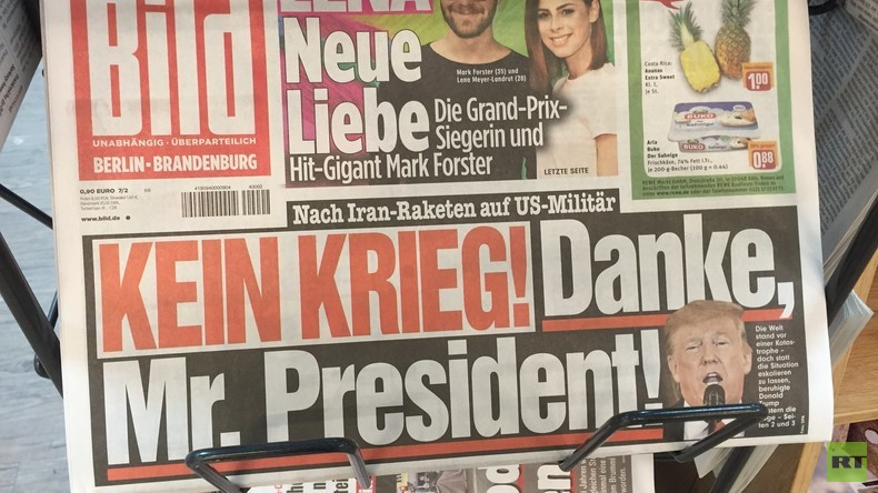 """""""Kein Krieg! Danke, Mr. President!"""" – Trumps Rede und die schiefe deutsche Sicht auf die Realität"""