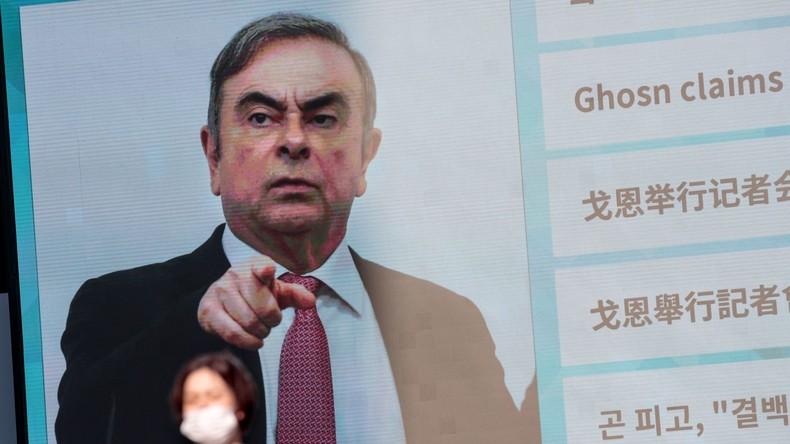 Libanon verhängt Ausreisesperre gegen Ex-Automanager Ghosn