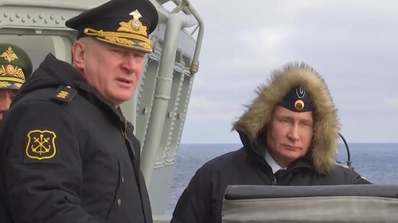 Russland: Putin beaufsichtigt Hyperschallraketentest im Schwarzen Meer