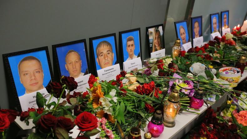 Ukraine: Selenskij fordert, von Spekulationen über Flugzeugabsturz in Teheran Abstand zu nehmen