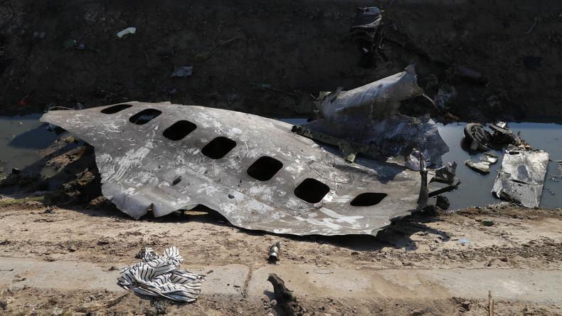 Flugzeugabsturz: Iran will Frankreich und Kanada bei Untersuchung um Hilfe bitten