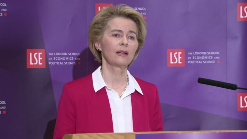 """Von der Leyen: Die Beziehungen zwischen der EU und Großbritannien werden nicht """"wie bisher"""" sein"""