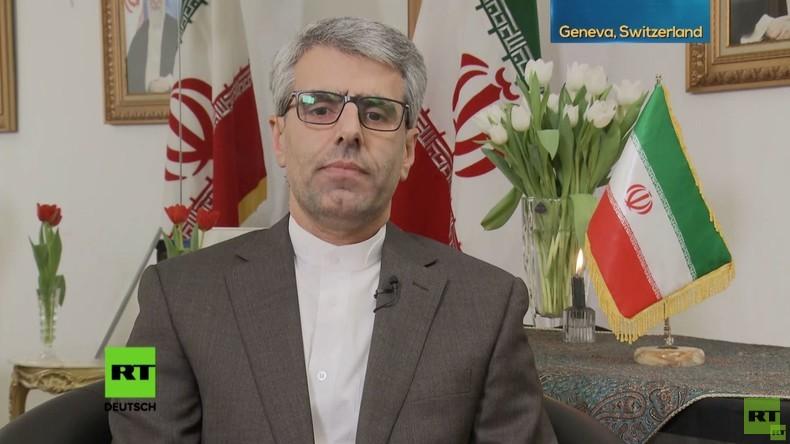 Iranischer UN-Botschafter: US-Präsenz im Nahen Osten bringt nur Elend, Krieg und Hass